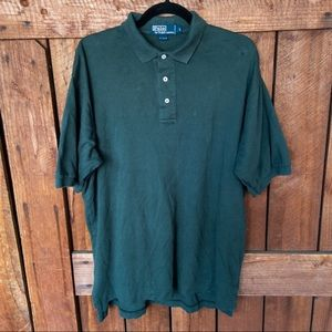Men's Polo by Ralph Lauren Green Polo Shirt